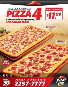 PIZZA HUT promocion en nuevos sabores de pizza 4 - 28oct13