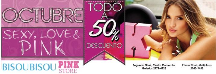 Pink Store BISOU BISOU discounts - 10oct13