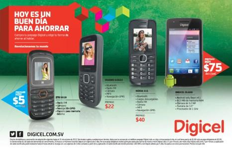 Promociones DIGICEL hoy es un buen dia para ahorrar en smartphones - 31oct13