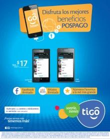 Promociones TIGO El Salvador planes pospago - 10oct13