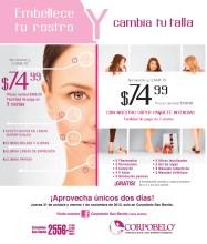Rejuvenece y embellece tu rostro CORPOBELLO - 31oct13