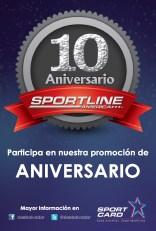 Sport line america aniversario 10 promotion - 07oct13