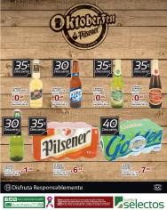 Super Selectos OKTOBERFEST Pilsener descuentos en cervezas - 29oct13