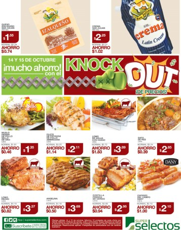 Super Selectos knock out de precios - 14oct13