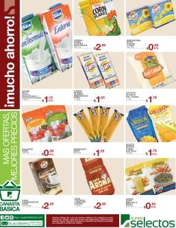 Super selectos ofertas de hoy canasta basica - 01oct13