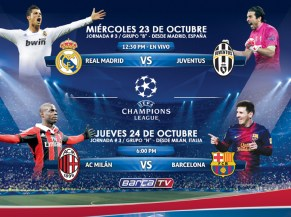 UEFA champions league disfrutala - 22oct13