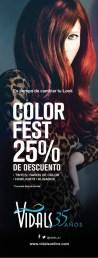VIDALS Color fest discounts - 31oct13