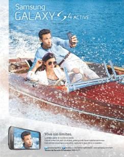 Vive sin limites Galaxy S4 SAMSUNG el salvador