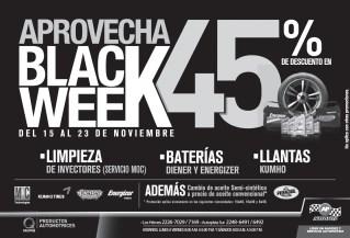 BLACK WEEK descuento el limpieza de inyectores AUTOPITS - 15nov13