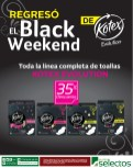BLACK WEEKEND de KOTEX evolution - 15nov13