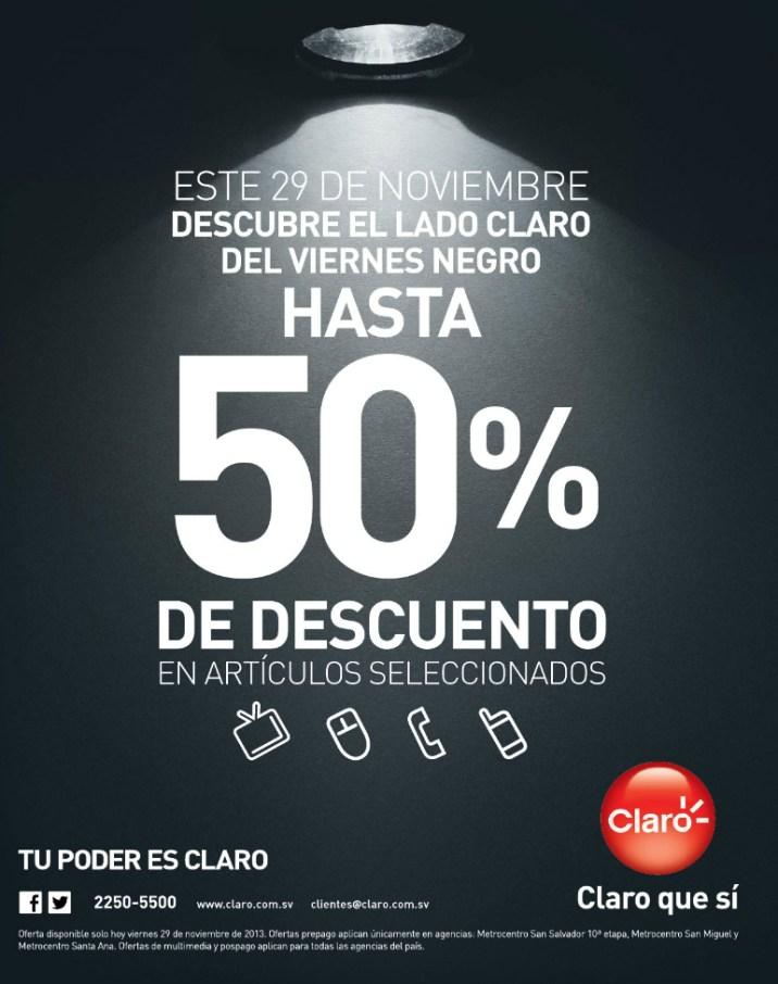 CLARO promociones BLACK Friday 2013