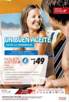 Cambio de Aceite en promocion Excel Express - 20nov13