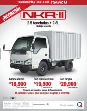 Camiones para toda la vida ISUZU NKR II