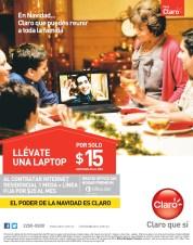 Casa CLARO promocion llevate una laptop GRATIS - 25nov13