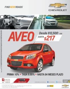 Chevrolet AVEO savings - 14nov13