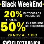 Electronica Japonesa Black WeekEnd
