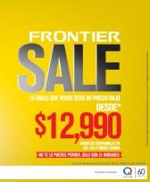 FRONTIER SALE precio bajo - 18nov13