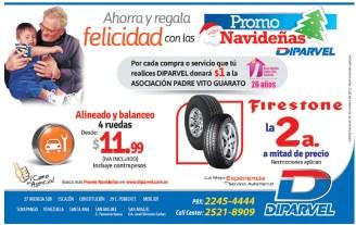 Firestone TIRE segunda a mitad de Precio DIPARVEL promociones - 22nov13