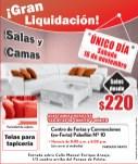 Gran liquidacion Navideña Muebles y camas - 15nov13