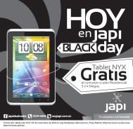 HOY en JAPI tablet gratis - 29nov13