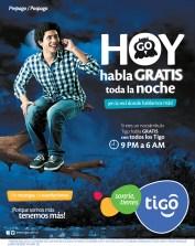 Hoy habla GRATIS toda la noche con TIGO promociones - 21nov13