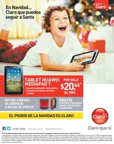 Internet CLARO promociones de navidad - 12nov13