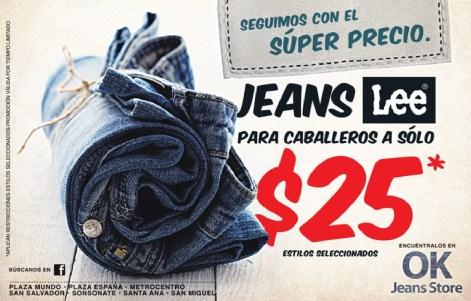 JEANS LEE en promocion OK jeans store - 23nov13