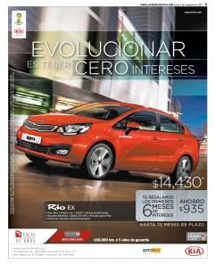 KIA RIO 2014 savings promotion - 11nov13