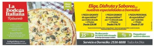 La Bodega Italiana descuentos y promociones - 20nov13