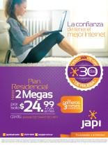 La Confianza de tener el mejor INTERNET JAPI - 18nov13