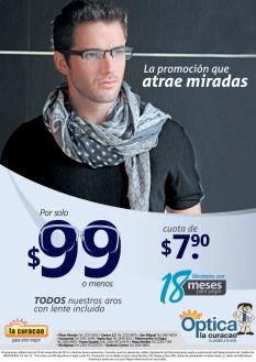 La promocion que atrae miradas Optica La Curacao - 04nov13