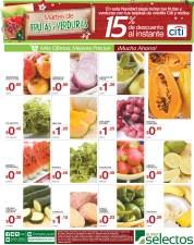 Martes de Frutas y Verduras en SUPER SELECTOS - 05nov13