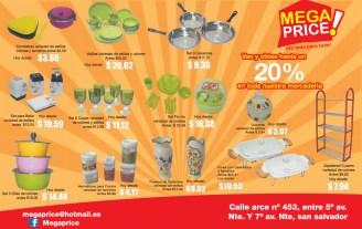 Mega Price descuento en toda la mercaderia - 04nov13