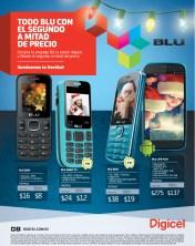 Moviles BLU a mitad de precio Promociones DIGICEL el salvador - 18nov13