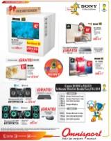 Ofertas y Promociones OMNISPORT electrodomesticos SONY - 22nov13