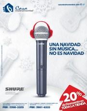 Pon le musica a tu navidad DESCUENTO en CASA Instrumental - 15nov13