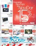 Productos AOC en NAVIDAR con PRADO el salvador - 20nov13