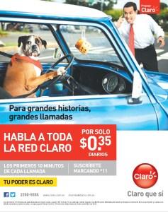 Promociones CLARO habla a toda la red claro - 05nov13