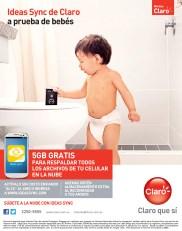 Promociones CLARO respalda tus datos a prueba de bebes - 05nov13