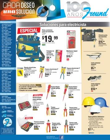 Promociones Ferreteria FREUND soluciones para electricista - 25nov13