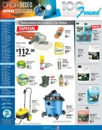 Promociones Ferreteria FREUND soluciones para limpieza de autos - 25nov13