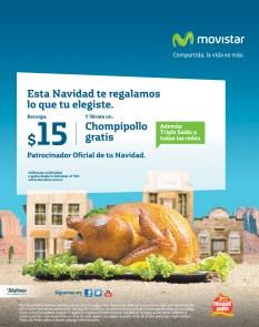 Promociones MOVISTAR te regala un chompipollo GRATIS - 15nov13