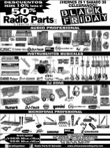 Radio Parts descuentos black friday - 29nov13
