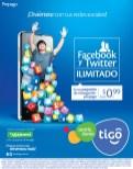 Recargas TIGO facebook y twitter ilimitado - 14nov13