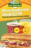 Subway el salvador promocion desayumos nov13