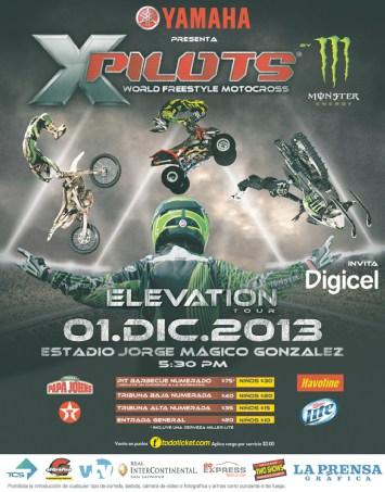 XPILOTS motocross show xtreme YAMAHA motorcycle