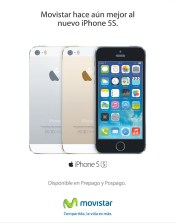 iPhone 5s disponible ya en MOVISTAR el salvador - 01nov13