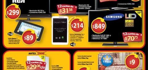 walmart black weekend ofertas destacadas - 29nov13 TV LED, SMART TV