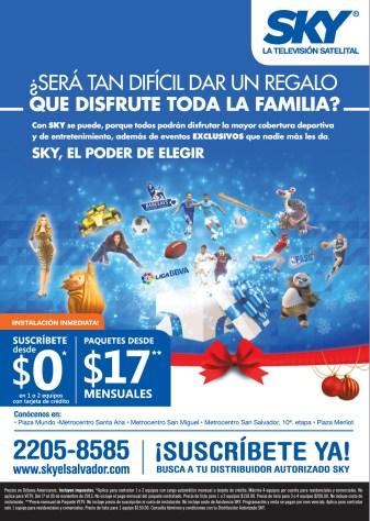 www.skyelsalvador.com suscripcion GRATIS y paquetes desde - 21nov13