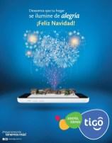 Alegria Feliz Navidad TIGO el salvador